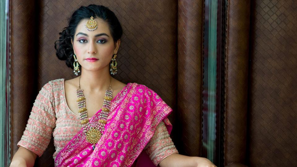pink-sari